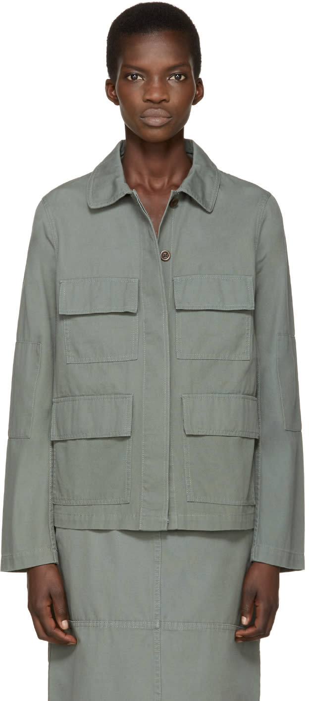 Ymc Green Twill M65 Jacket