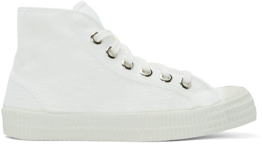 Ymc White Novesta Edition High-top Sneakers