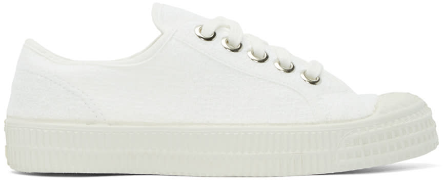 Ymc White Canvas Novesta Edition Sneakers