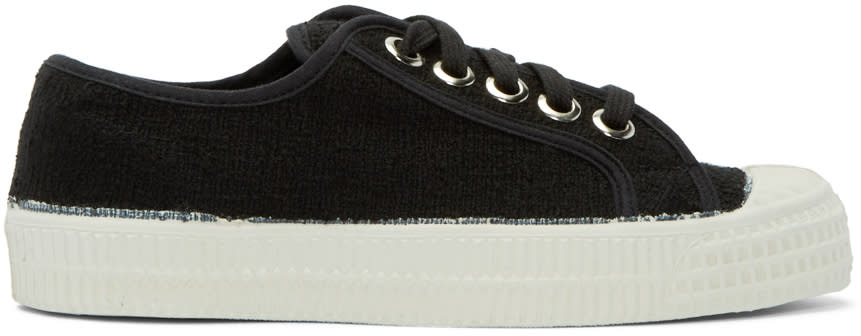 Ymc Black Canvas Novesta Edition Sneakers