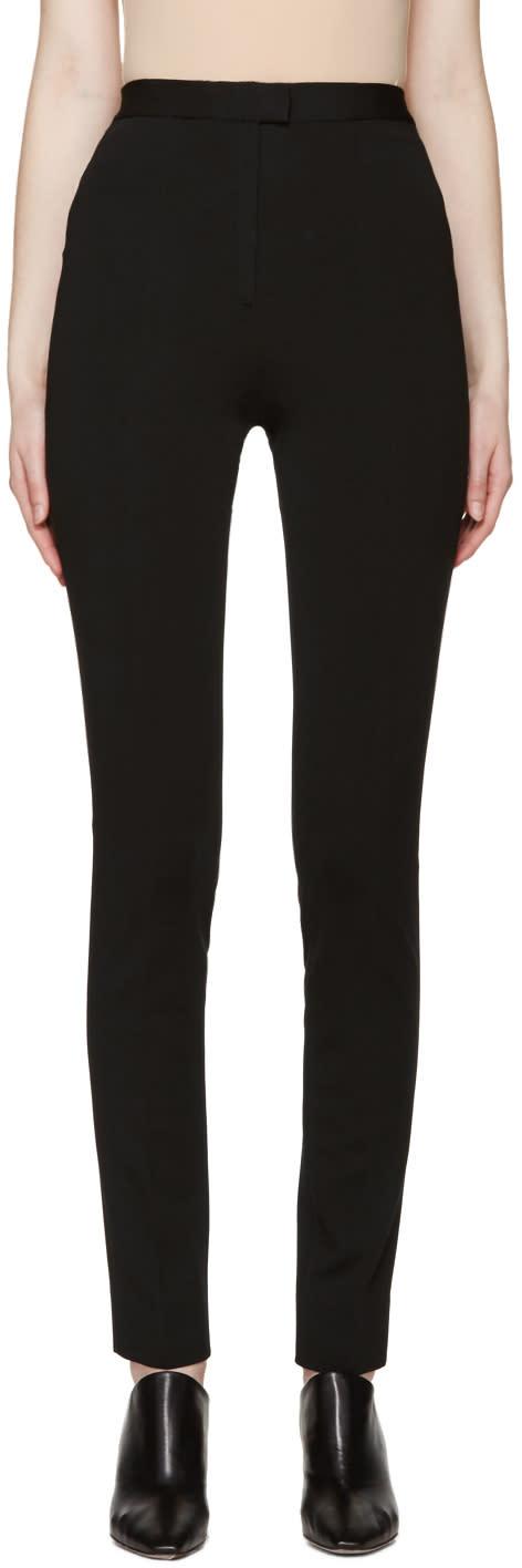 Maison Margiela Black Pleated Trousers