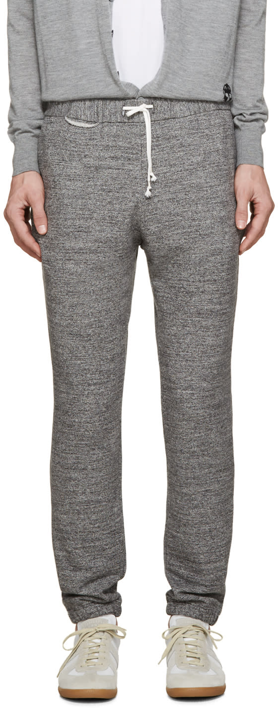 Grey French Terry Lounge Pants