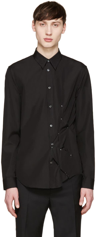 Maison Margiela Black Studded Shirt