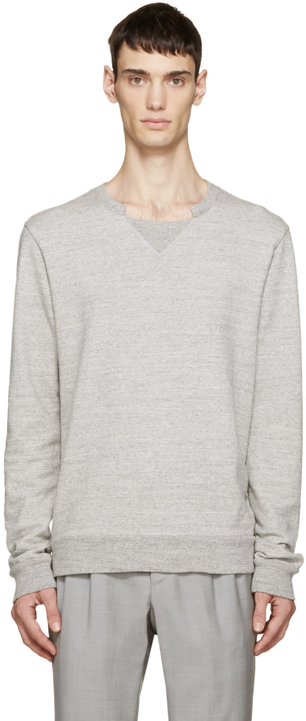 Grey French Terry Pullover