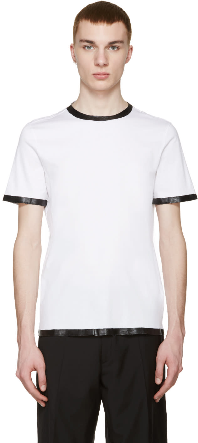 ホワイト コーティング加工 Tシャツ