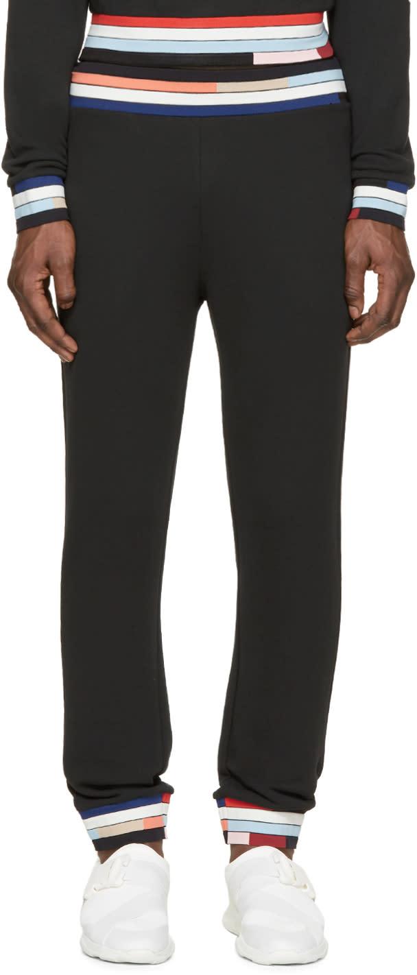 Christopher Kane Black Bolster Lounge Pants