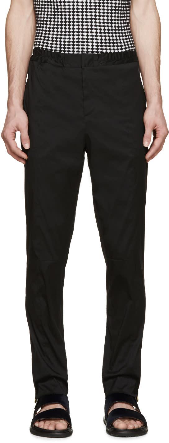 Christopher Kane Black Hybrid Trousers