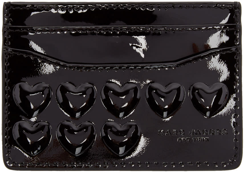 Marc Jacobs Black Heart Card Holder
