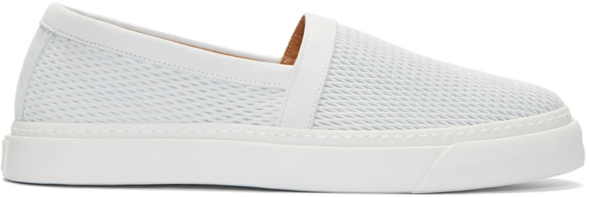 Marc Jacobs White Leather Low-top Sneakers