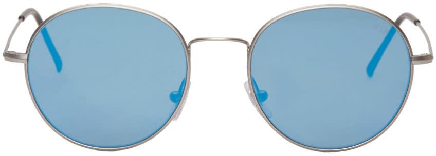 Super Silver Aviator Wire Sunglasses