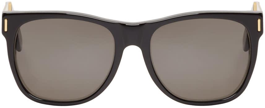 Super Black and Gold Classic Francis Sunglasses
