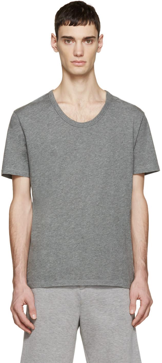T By Alexander Wang Grey Classic T-shirt