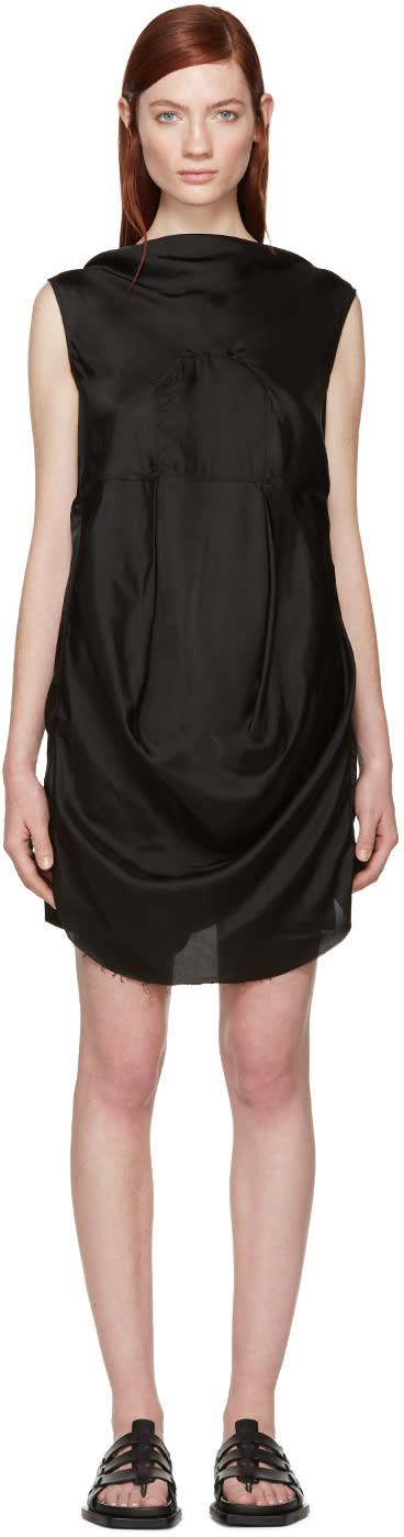 Rick Owens Black Seahorse Dress