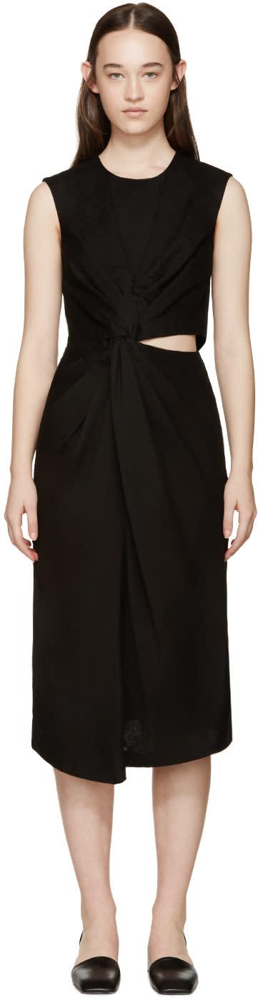 Jil Sander Black Knot Adamantino Dress
