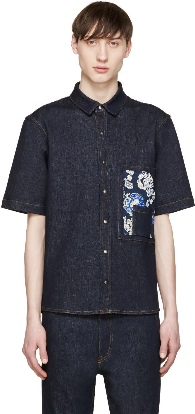 Jil Sander Indigo Denim Shirt
