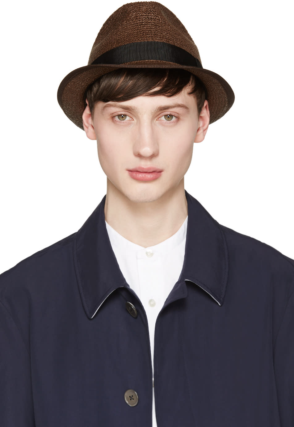Junya Watanabe Brown Paper Hat