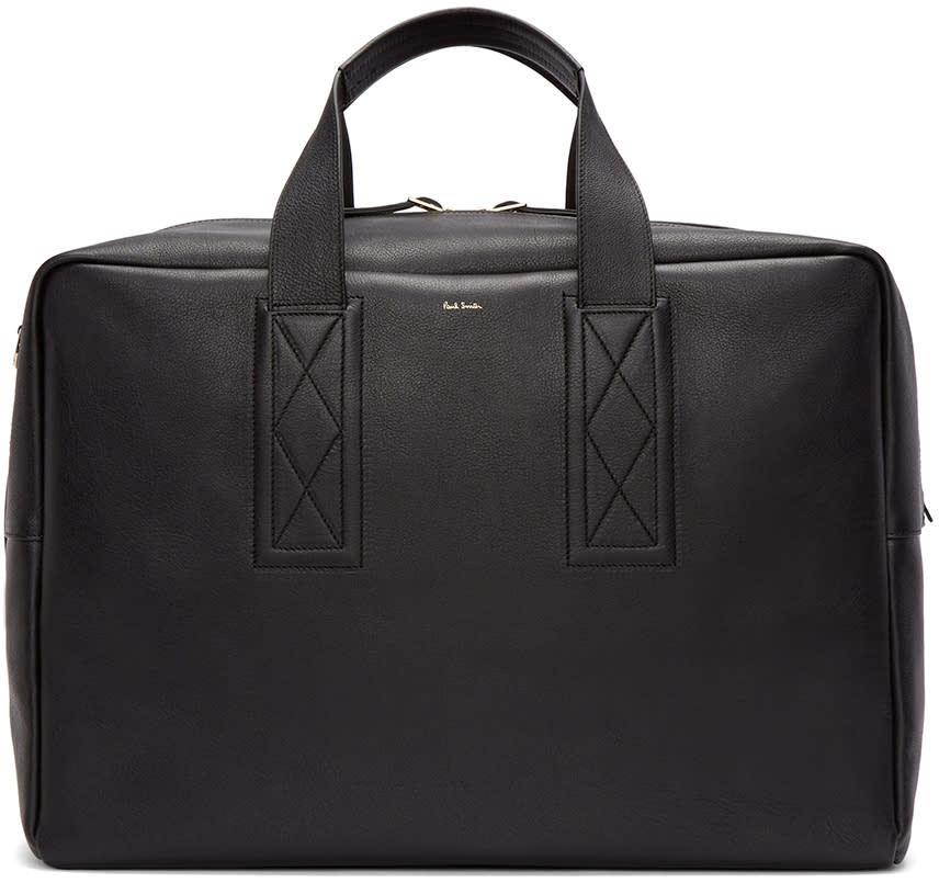 Paul Smith Black Leather Briefcase