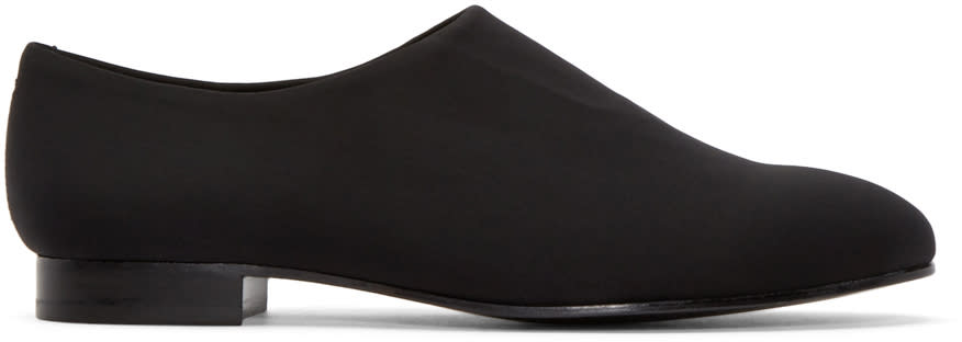Opening Ceremony Black Neoprene Charly Loafers