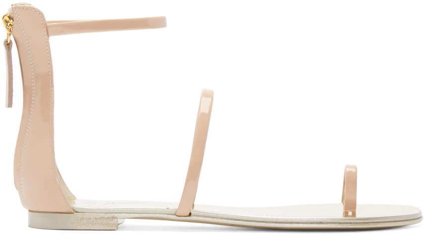 Giuseppe Zanotti Pink Gladiator Harmony Sandals