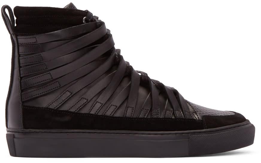 Damir Doma Black Falco High-top Sneakers