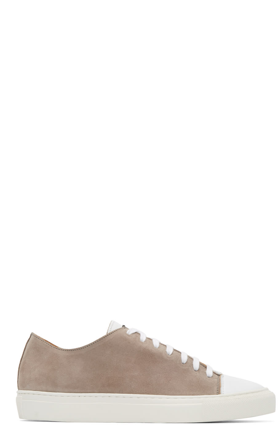 Damir Doma Taupe Suede Fulcia Sneakers