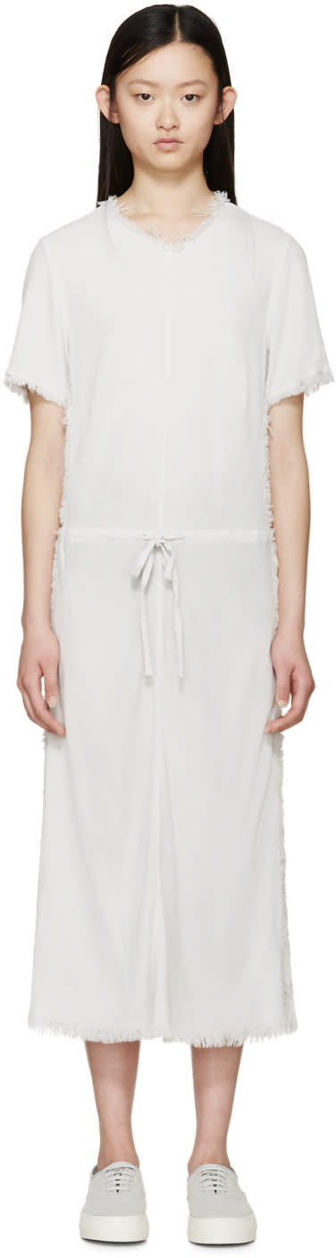 Raquel Allegra Grey Crepe Bias Dress