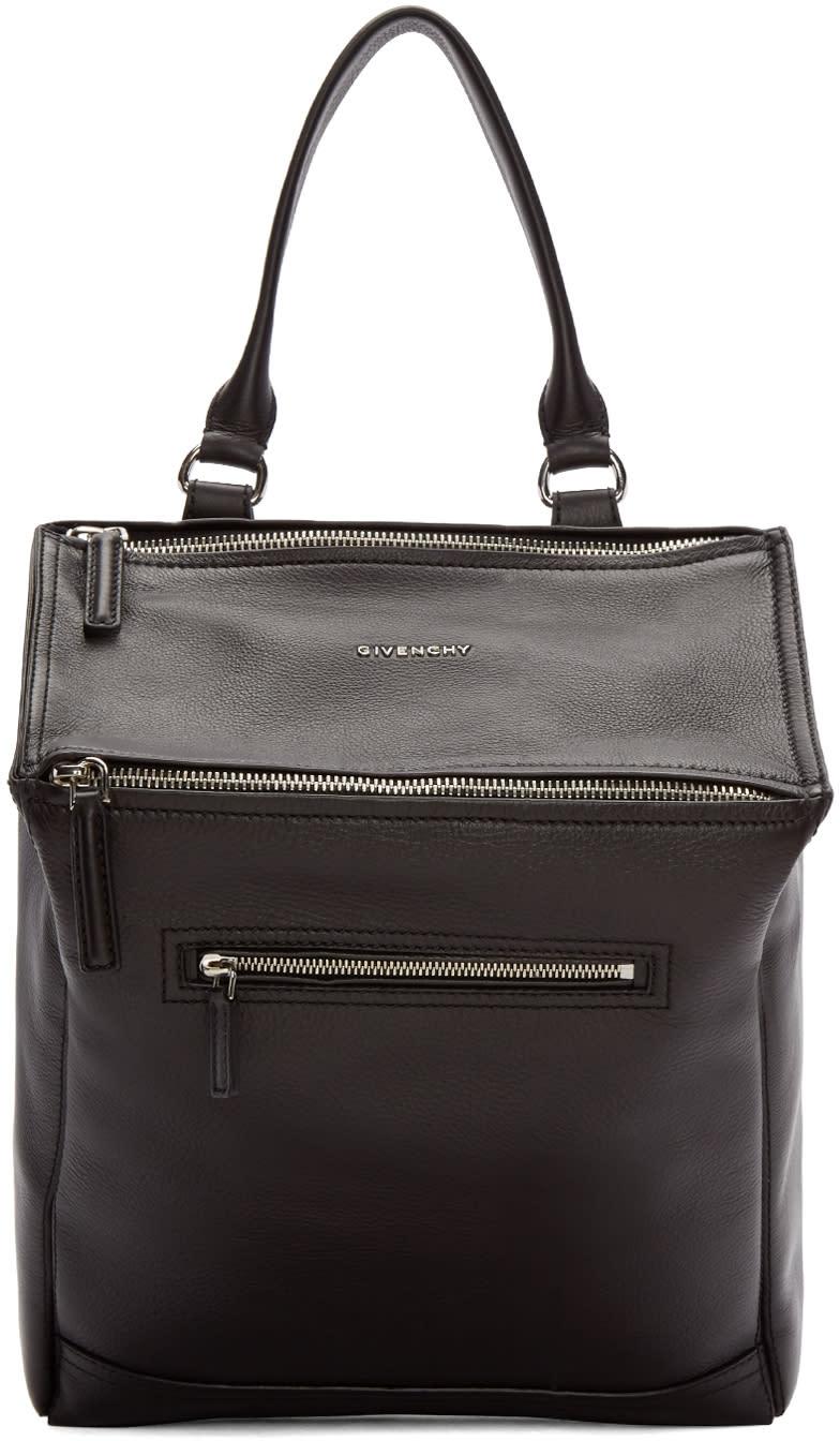 Givenchy Black Leather Pandora Backpack