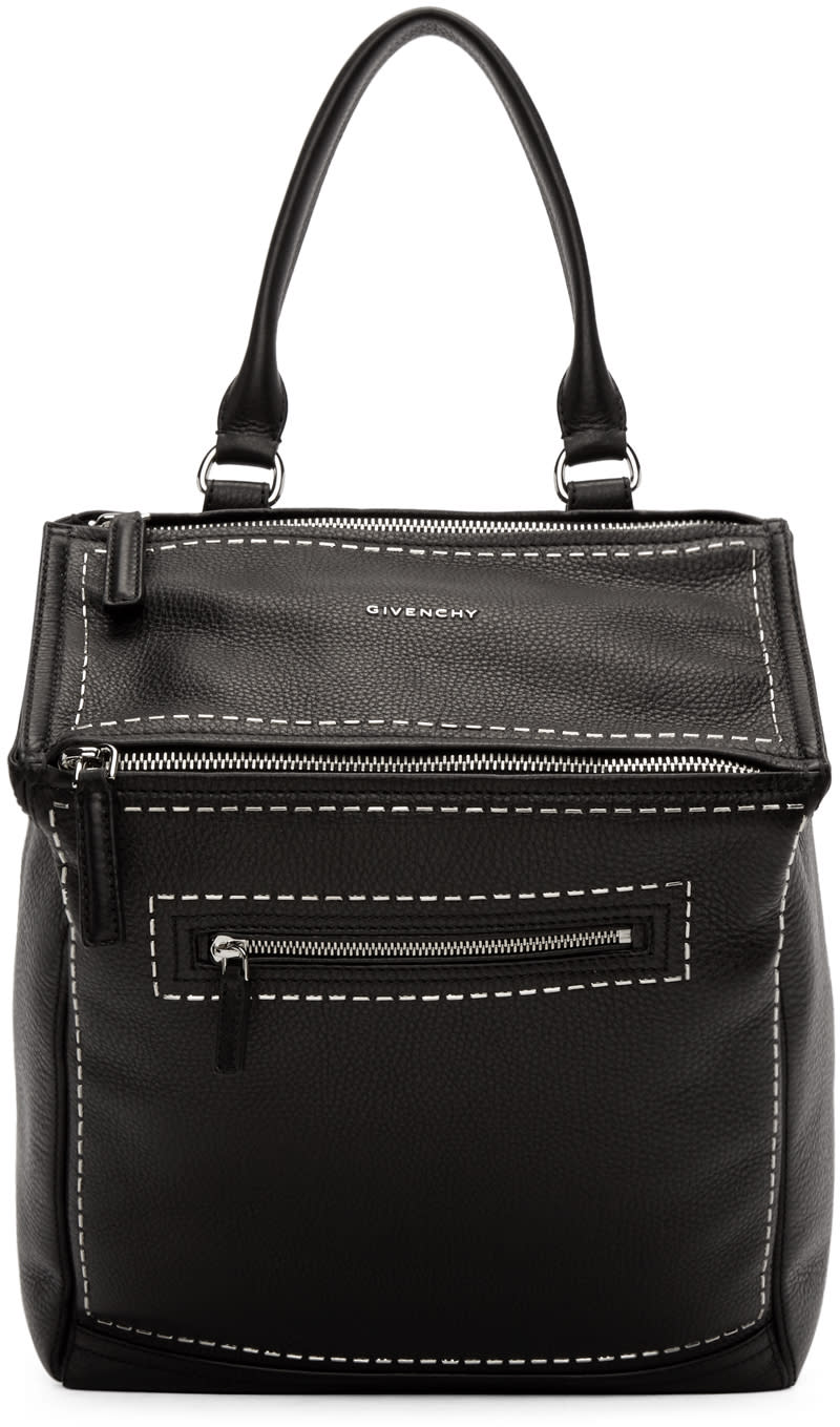 Givenchy Black Studded Pandora Backpack