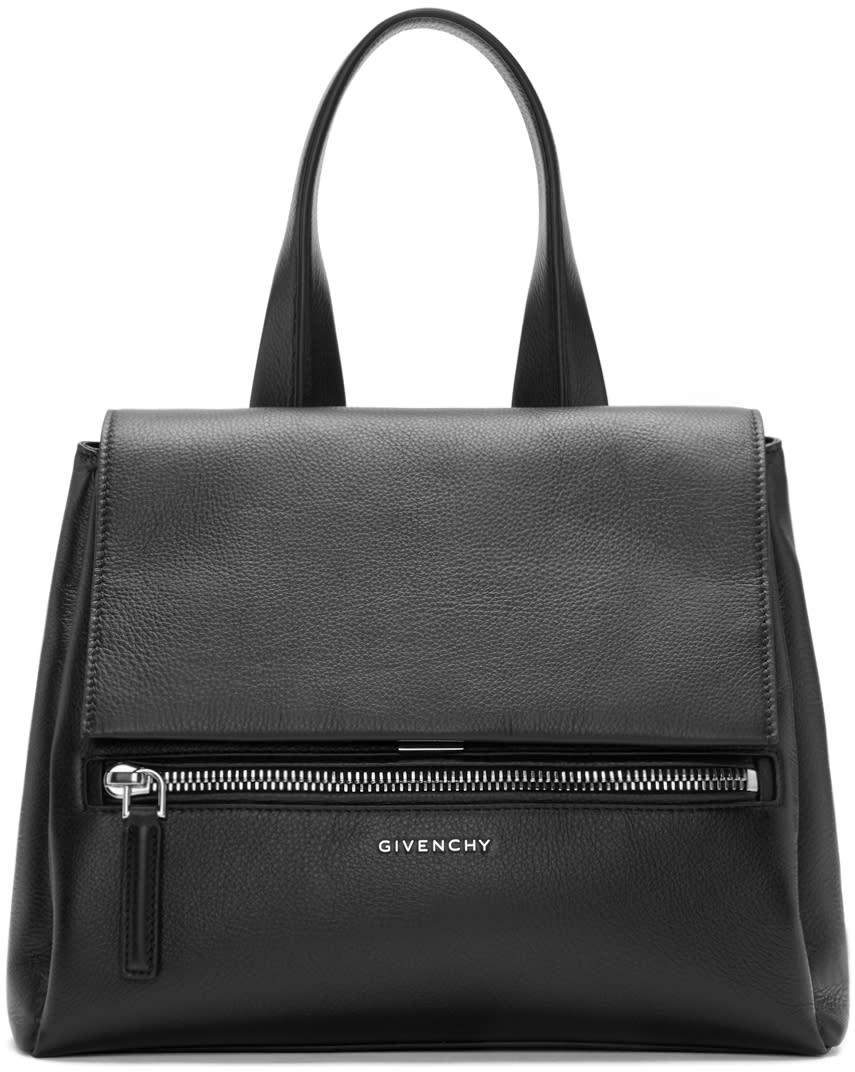 Givenchy Black Leather Small Pandora Bag