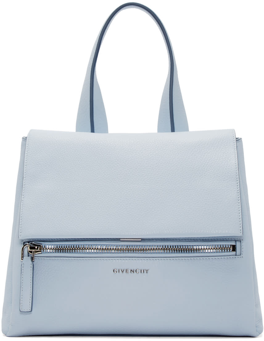 Givenchy Blue Small Pandora Pure Bag