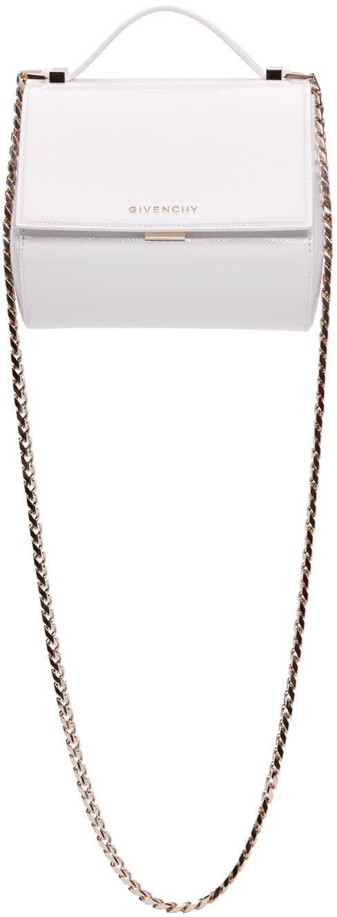 Givenchy ホワイト ミニ パンドラ ボックスバッグ