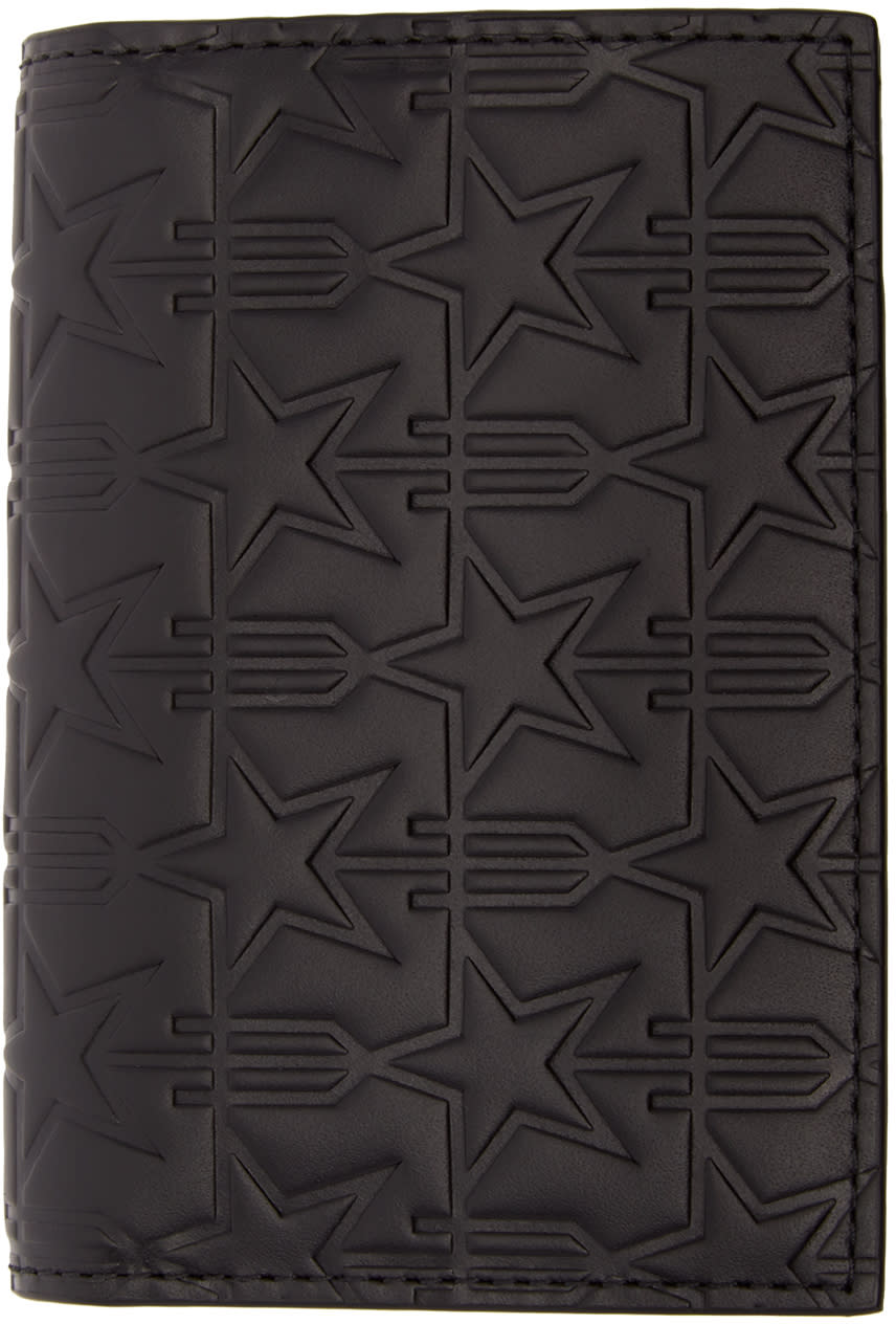 Givenchy Black Trident Card Holder