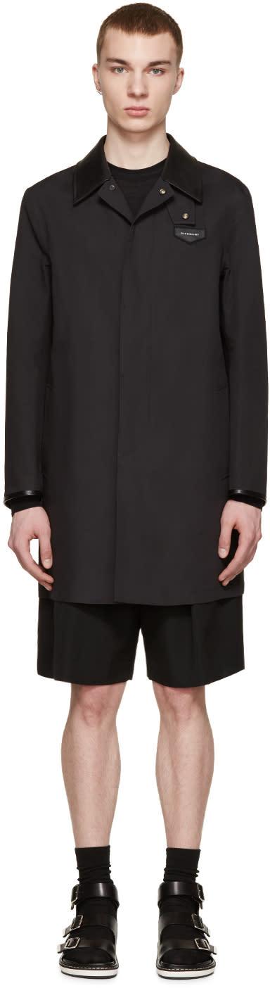Givenchy Black Canvas Mac Jacket