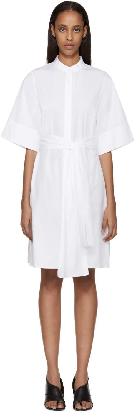 3.1 Phillip Lim White Poplin Dress at ssense.com men and women fashion