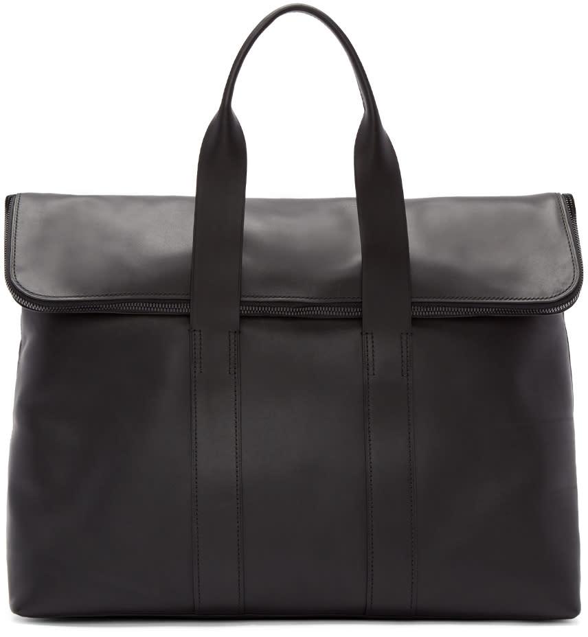 3.1 Phillip Lim Black 31 Hour Tote Bag