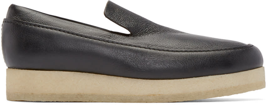 3.1 Phillip Lim Black Leather Merika Loafers
