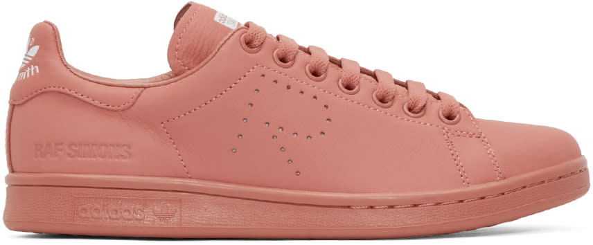 Raf Simons Pink Stan Smith Adidas By Raf Simons Sneakers