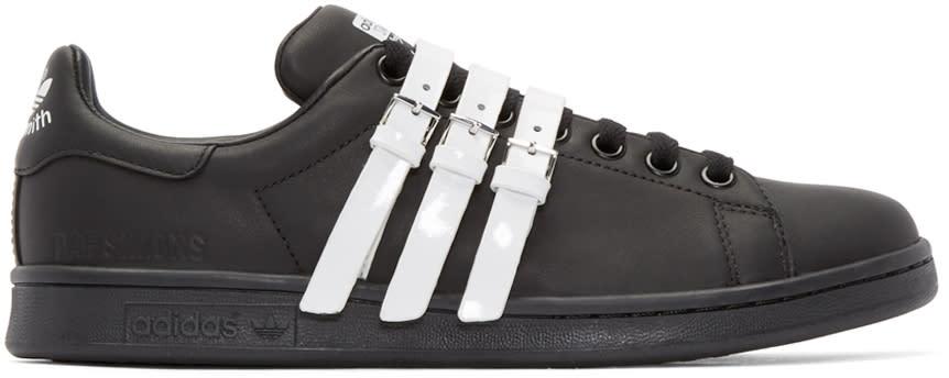 Raf Simons Black and White Stan Smith Adidas By Raf Simons Sneakers