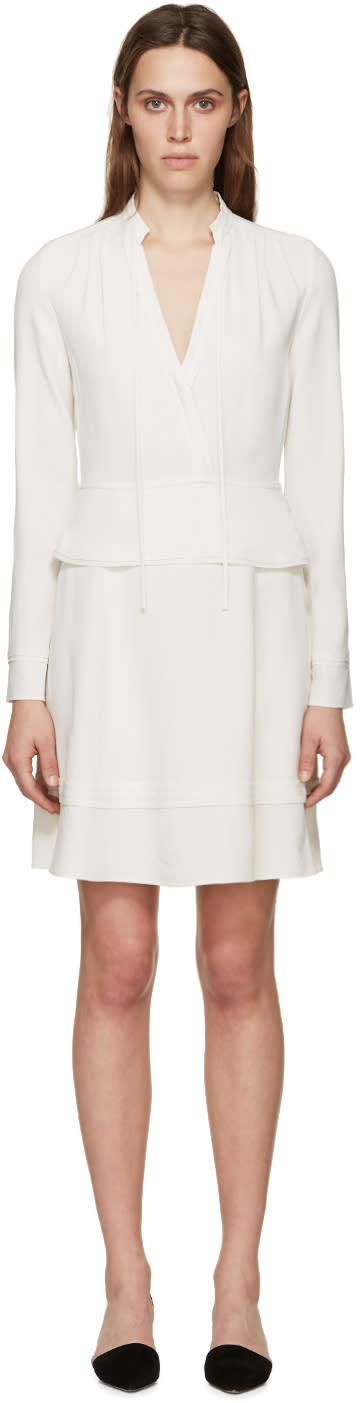 Proenza Schouler Ivory Crepe Tie Dress
