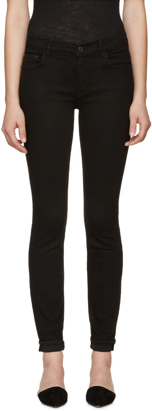 Proenza Schouler Black Ps-j5 Ultra Skinny Stretch Jeans