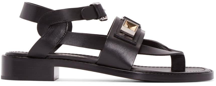 Proenza Schouler Black Rava Sandals