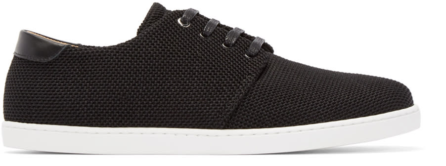 Image of Want Les Essentiels Black Mesh Sneakers