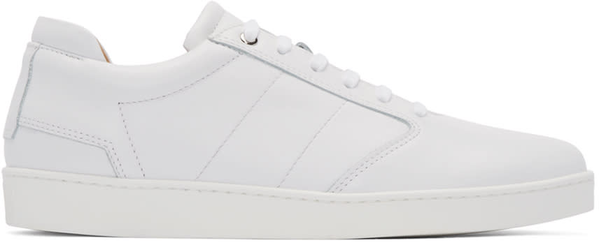Want Les Essentiels White Lennon Low-top Sneakers