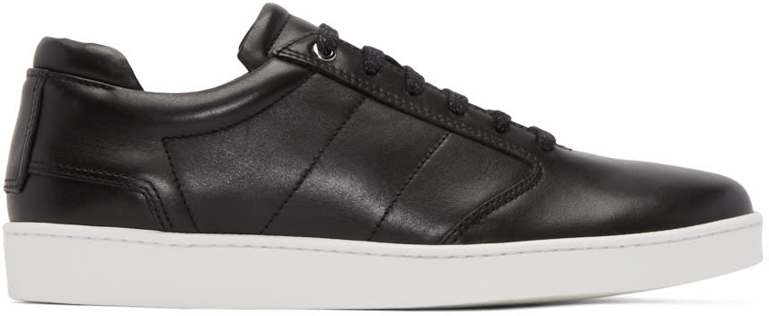 Want Les Essentiels Black Lennon Low-top Sneakers