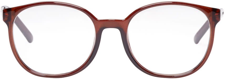 Chloé Brown Oversized Optical Glasses