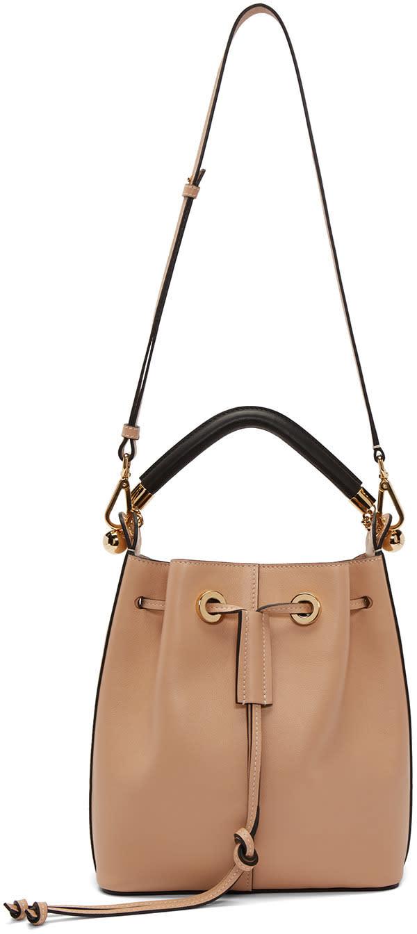 Chloe Pink Medium Gala Bucket Bag