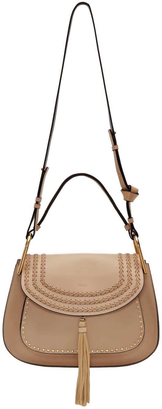 Chloe Beige Hudson Shoulder Bag