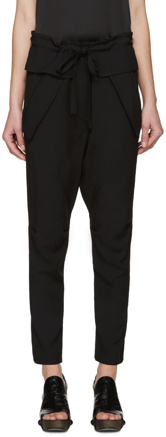 Chloe Black Crepe Trousers