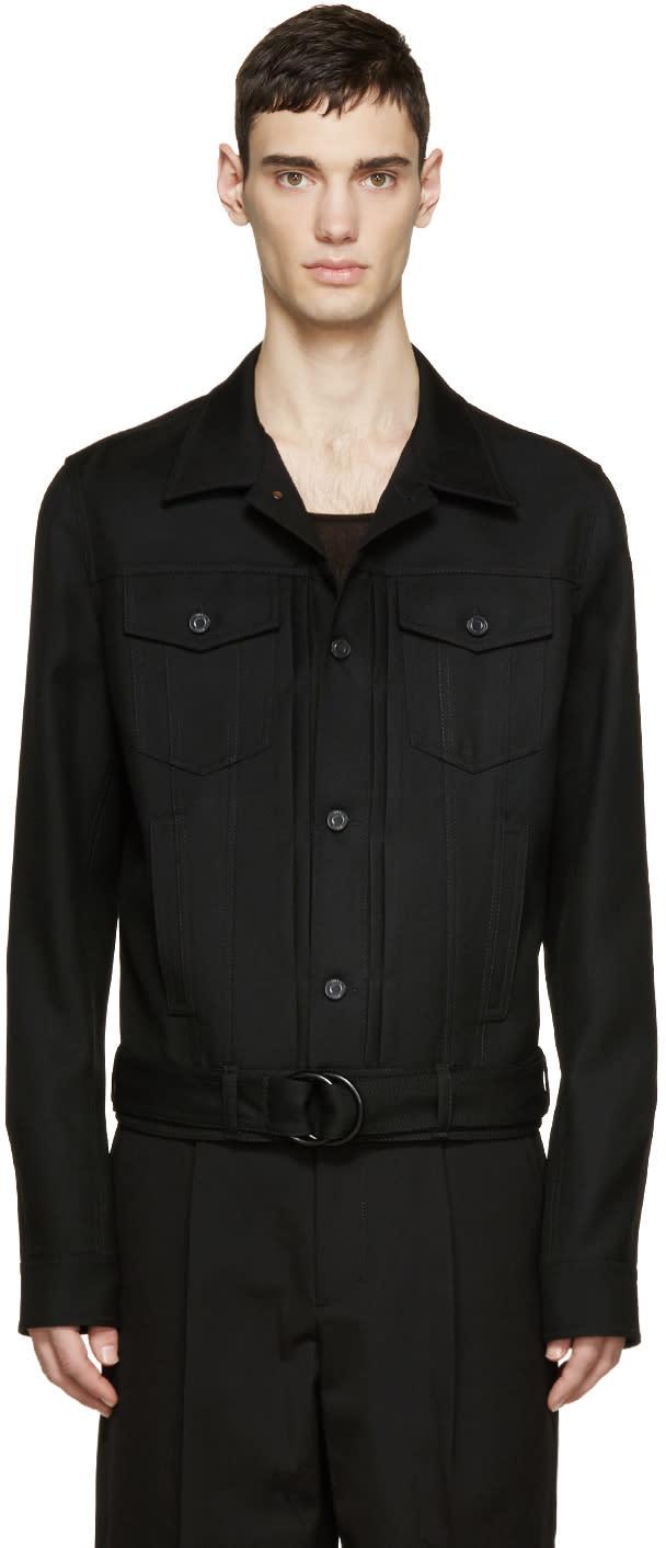 Juun.j Black Denim Jacket