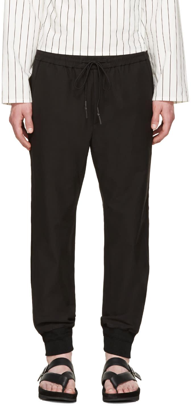 Juun.j Black Cuffed Lounge Pants